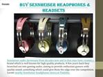 Explore Sennheiser Headphones
