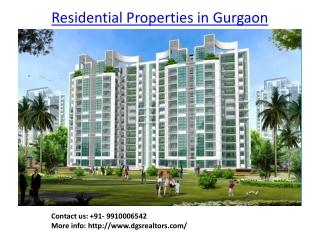 Residential Properties in Gurgaon