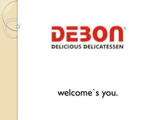 DEBON the food retailing company