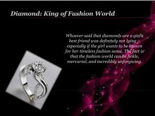 Diamond: King of FashionWorld