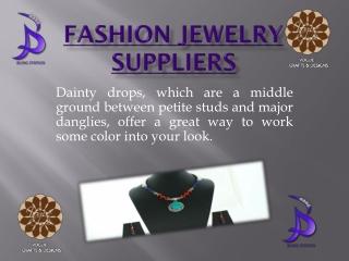 Fashion Jewelry Suppliers