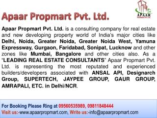 Dasnac Designarch The Jewel of Noida @@ 09811848444 %%