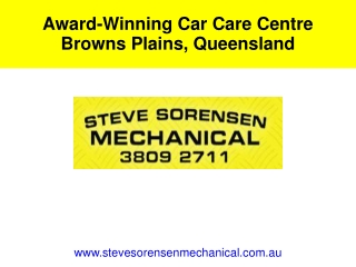 Award-Winning Car Care Centre Browns Plains, Queensland