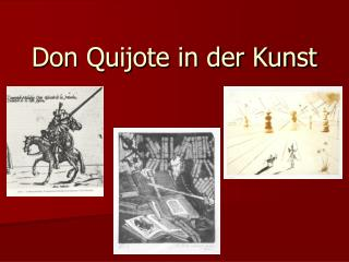 Don Quijote in der Kunst