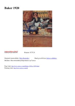 Baker 1920 - Artisoo.com