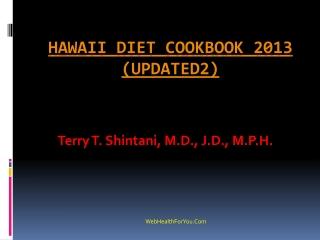 Hawaii Diet Cookbook 2013 (updated2)14