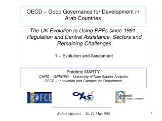 OECD   Good Governance for Development in Arab Countries
