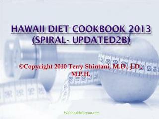 Hawaii Diet Cookbook 2013 (spiral- updated2b)15