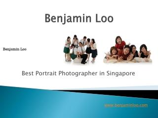 Best Portrait Photographer in Singapore