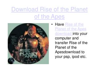 download rise of the planet of the apes high definition