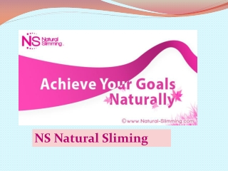 Weight loss - Natural-slimming
