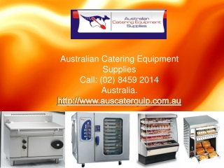 look at the numerous commercial catering equipment