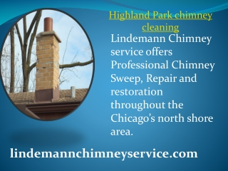 Highland Park chimney cleaning