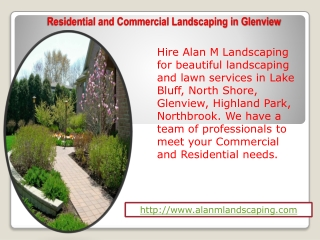 Residential and Commercial Landscaping in Glenview