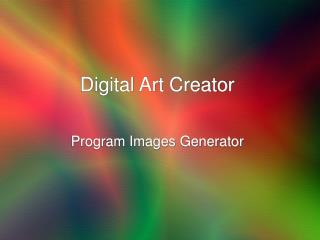 Digital Art Creator