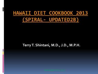 Hawaii Diet Cookbook 2013 (spiral- updated2b)16