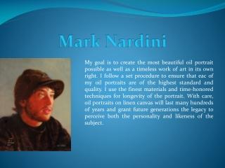 Mark Nardini Portraits and Fine Art