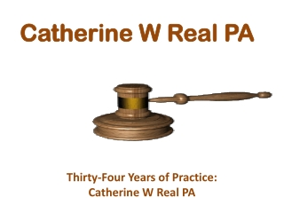 Catherine W Real PA