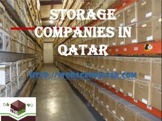 Best moving And Storage company In Qatar