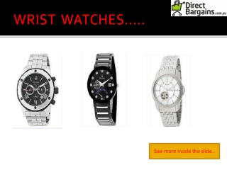 Shop Online for Citizen and Emporio Armani Watches