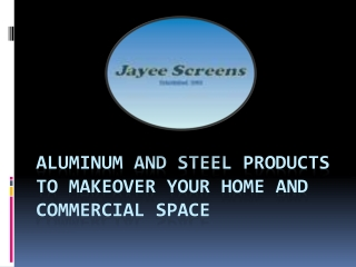 Jayee Screens – Shower Screens, Security Doors, Wardrobes