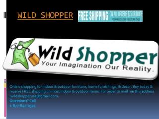 I am wild shopper.Are you?!