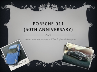 Porsche 911 (50th Anniversary)