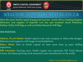Truck Mounted Crane-smithcapital.co.za