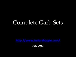 Complete Garb Sets