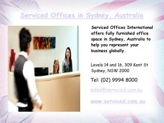 Virtual Office Space in Sydney CBD