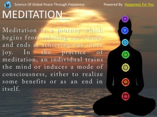 Reduce Your Stress Through Meditation
