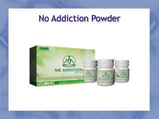 No Addiction Powder | Buy No Addiction Herbal Powder