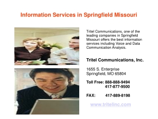 Information Services in Springfield Missouri