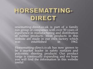 horsematting-direct