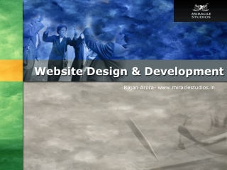 Best web Design and Development  Company in India