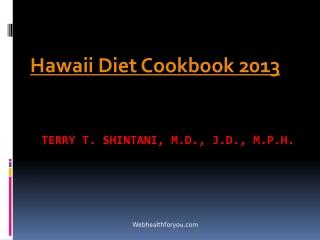 Hawaii Diet Cookbook 2013 (updated2) 21