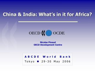 China & India: What's in it for Africa?