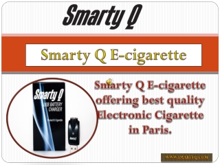 Buy Electronic Cigarette in Paris !