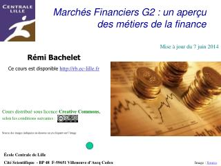March s Financiers G2 : un aper u des m tiers de la finance