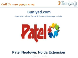 Patel Neotown booking started Call 9999011115