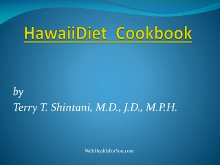 Hawaii Diet Cookbook 22