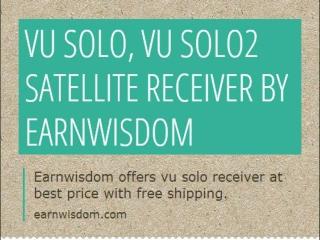 Vu solo, Vu SOlo2, Vu Duo Receiver