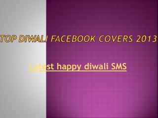 Best Deepawali Facebook Covers 2013