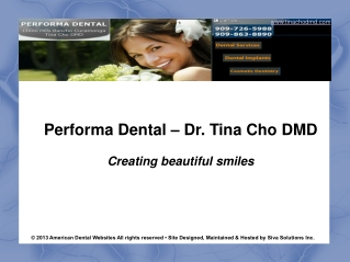 Sedation Dentistry Chino Hills |Cosmetic Dentist Azusa