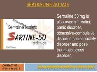 Sertraline 50 Mg