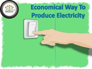 Economical way to produce enrgy