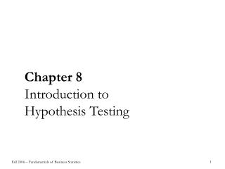 chapter testing and its significance in Key takeaways null hypothesis testing is a formal approach to deciding whether a statistical relationship in a sample reflects a real relationship in the population or is just due to chance.