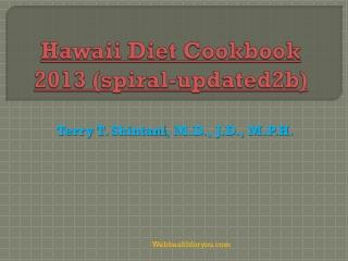 Hawaii Diet Cookbook (spiral- updated2b) 24