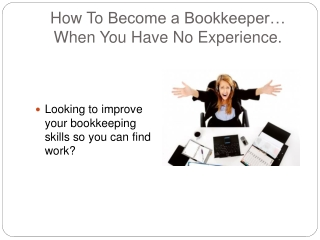 How to Get Bookkeeping Experience