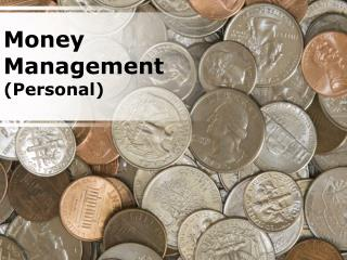 money management - personal (modern) powerpoint presentation